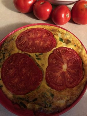Photo From: Crustless Spinach Quiche