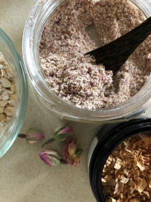 Photo From: Sandalwood, Rose, and Oat –Lovely Body Exfoliant